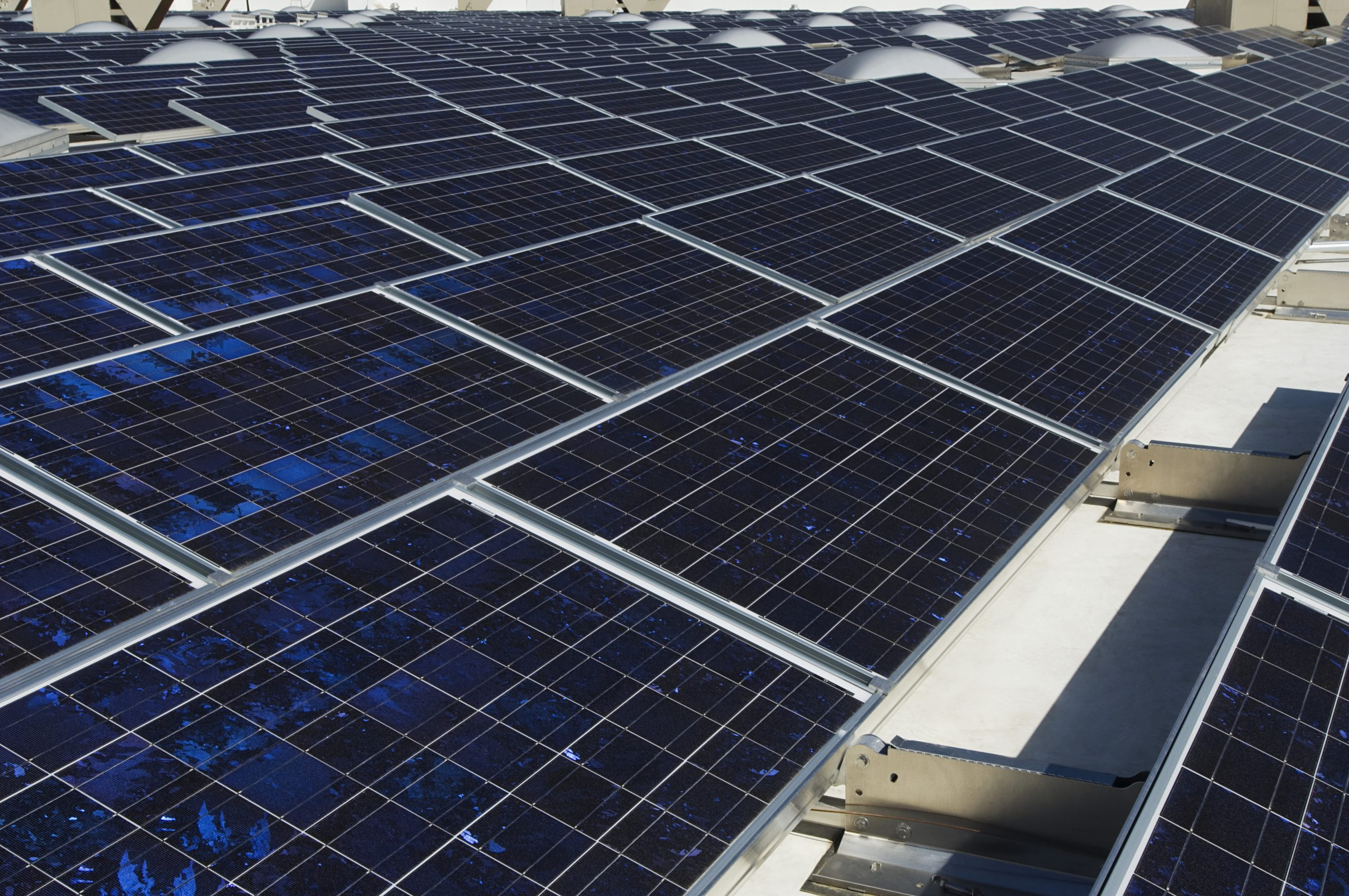 solar panels scaled - How truly reliable is renewable energy? An end user's view